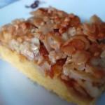 Mandel- Bienenstich-Kuchen