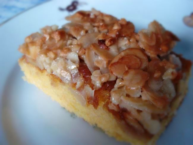 Kuchenrezepte: Bienenstich ohne Hefe