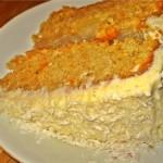 Carrot Cake- oder: tropischer Möhrenkuchen