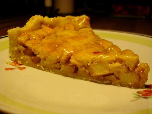 Appeltaart: Ein holländischer Apfelkuchen