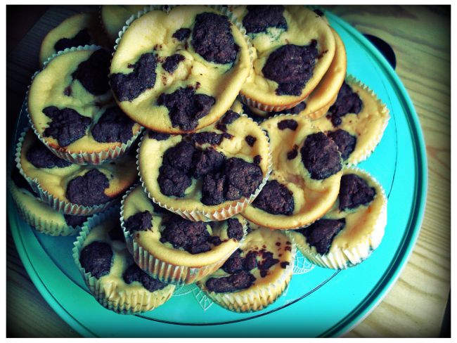 Russischer-Zupfkuchen-Muffins-Käsekuchen-Kakao