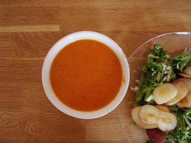 Apfel-Paprika-Suppe: Nicht nur für Vegetarier!