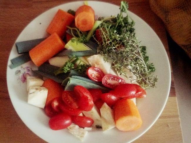 Ohne Lebensmittelzusätze: Hausgemachte Gemüsebrühe