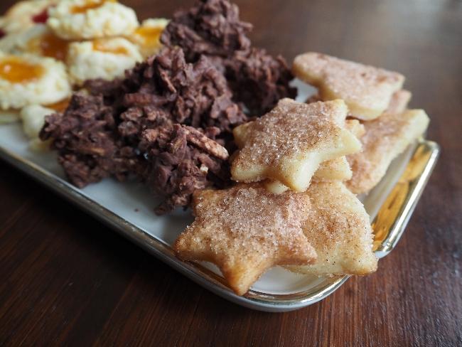 Zimtplätzchen: Kekse backen zu Weihnachten