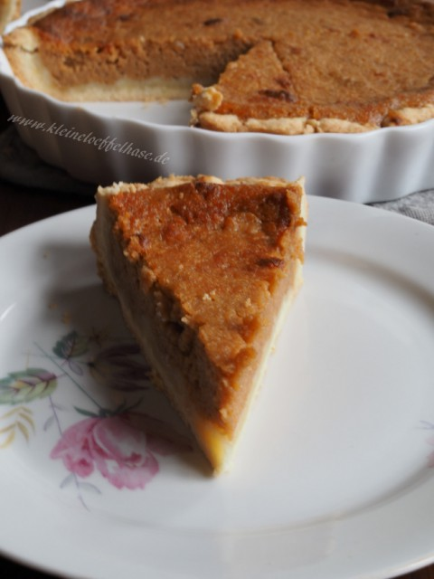 Ihr wollt Soulfood? Hier ein Süßkartoffel-Pie aus der US-Südstaatenküche