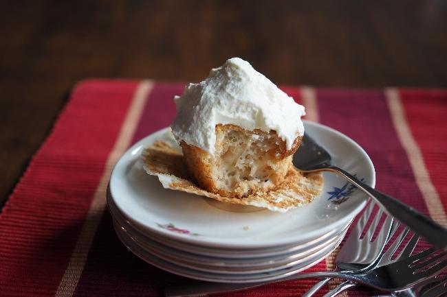 Apfelmuffins mit Joghurt: saftig und leicht