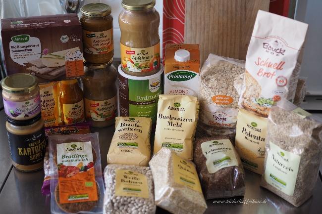 """Vegan, gluten- & zuckerfrei: Mein """"Grundeinkauf"""""""