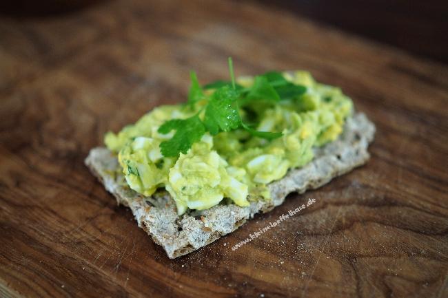 Cremig-frisch: Eiersalat mit Avocado-Mayo