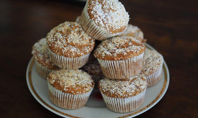 Vegane Bananen-Kokos-Muffins
