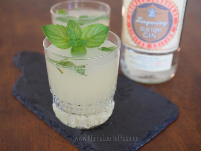 Elderflower Collins: Holunderblüten & Gin zum Fizz