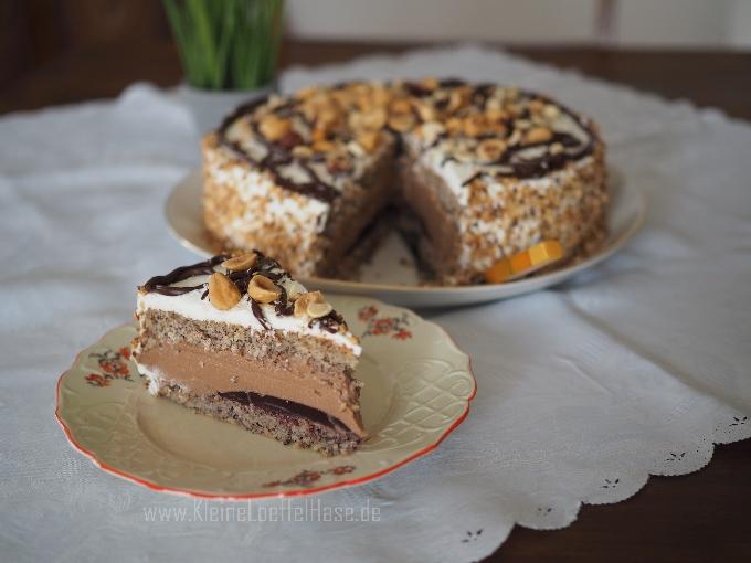 Nuss-Nougat-Torte {ohne Mehl}