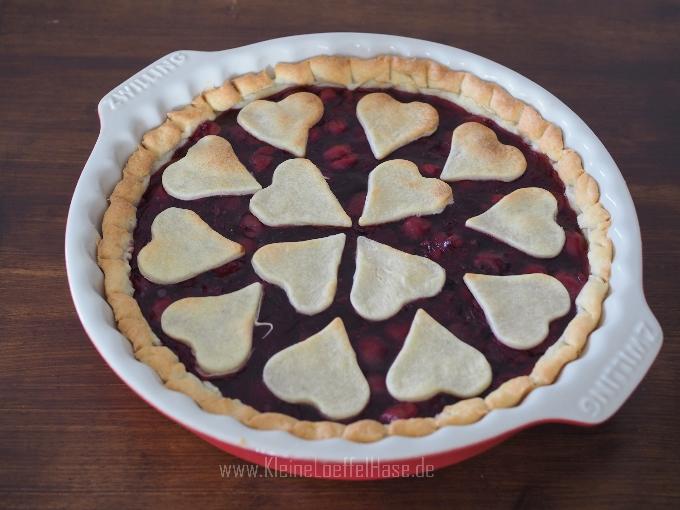 Kirschkuchen wie aus Twin Peaks {A damn fine cherry pie!}