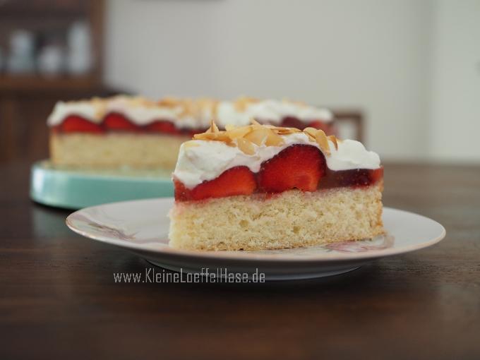 Schnelle Erdbeer-Mandeltorte – schon probiert?