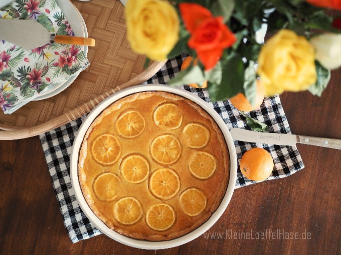 Orangentarte mit Mandelpudding {dieser Duft!}